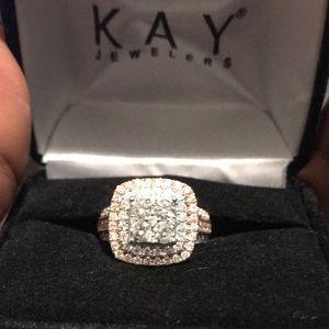 14K 2 Carat Engagement Ring